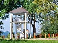 Rozhledna Semenec - rekreační dům k pronajmutí Týn nad Vltavou