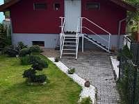 Vchod do zahrady - Týn nad Vltavou