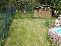 Zahrada - rekreační dům k pronajmutí Týn nad Vltavou