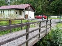 Levné ubytování  Velký Klikovský rybník Apartmán na horách - Horní Pěna