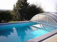 BAZEN 8x3,5x1,5 kryt bazenu prodlouží sezonu,zabrání pádu dětí do bazenu