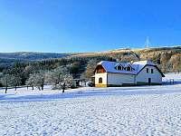 Apartmán na horách - okolí Holubova
