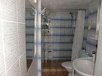Koupelna - chata k pronájmu Červená nad Vltavou
