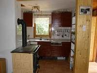 Kuchyňka - chata k pronajmutí Červená nad Vltavou