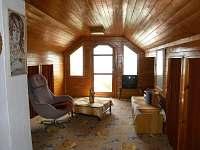 Podkroví s ložnicemi - chata k pronajmutí Červená nad Vltavou