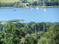 výhled na jezero - pronájem apartmánu Horní Planá