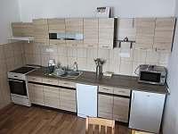zařízení kuchyně - apartmán ubytování Horní Planá