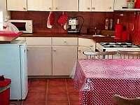 Apartmán Ema, kuchyň