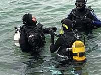 Možnost vyzkoušet i potápění s instruktorem - pronájem chaty Frymburk - Lojzovy Paseky