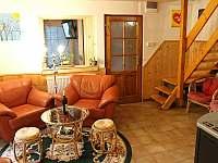 Společenská místnost - chata k pronajmutí Frymburk - Lojzovy Paseky