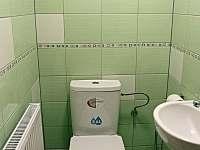 Záchod 1. patro - pronájem chaty Frymburk - Lojzovy Paseky