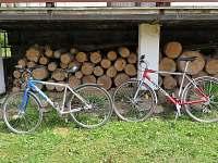 kola k zapůjčení - chata ubytování Děkanské Skaliny
