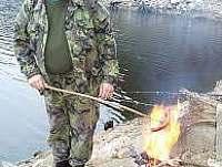 rybář - chata k pronájmu Zbonín