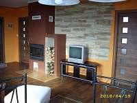 obývací pokoj - chalupa ubytování Myslkovice