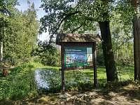 na kole po červené okolo rybníků Láska, Víra, Naděje, Skutek, Dobrá vůle....