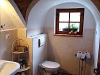 koupelna apartmentu 2 - chalupa ubytování Olešnice u Trhových Svinů