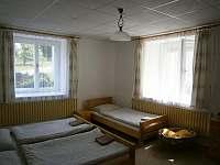 Čtyřlůžkový pokoj 1 - chalupa ubytování Starý Bozděchov