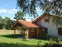 Chata s verandou - ubytování Kamenná Lhota