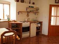 Kuchyňská linka - pronájem apartmánu Kačlehy