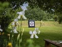Možnosts lekcí lukostřelby - apartmán k pronájmu Kačlehy