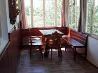 veranda - chalupa k pronájmu Roudná