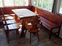 veranda - chalupa k pronajmutí Roudná