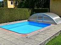 Bazén č.1 - chalupa ubytování Libějovice