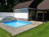 Bazén č.2 - chalupa ubytování Libějovice