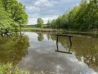 Rybník Karlák v okolí chalupy - Libějovice