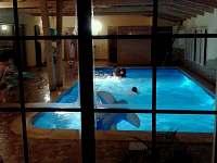 Chalupa s vnitřním bazénem, vířivkou a saunou - chalupa ubytování Klenovice - 2