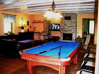 Chalupa s vnitřním bazénem, vířivkou a saunou - chalupa k pronájmu - 6 Klenovice