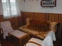 obývák - chata ubytování Brandlín