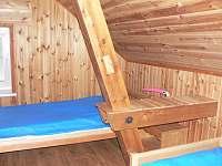 dvoulůžková ložnice - pronájem rekreačního domu Přední Zborovice