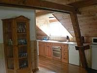galerie s kuchyní - rekreační dům k pronájmu Přední Zborovice