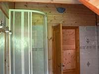 koupelna - rekreační dům k pronajmutí Přední Zborovice