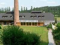pohled ze zadní části - rekreační dům ubytování Přední Zborovice