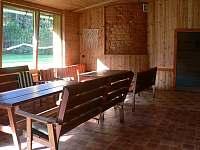 posezení - pronájem rekreačního domu Přední Zborovice