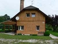 průčelí - rekreační dům k pronájmu Přední Zborovice