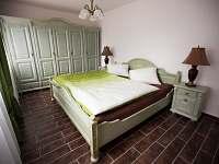 apartmán č. 1 - ložnice - Jistec