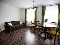apartmán č. 1 - obývací část - Jistec