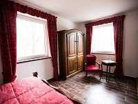 apartmán č. 3 - ložnice - ubytování Jistec