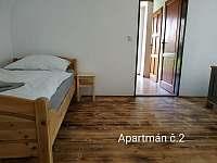Ubytování U kostela - pronájem apartmánu - 12 Chlum u Třeboně
