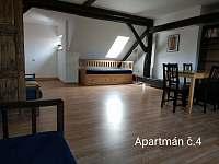 Ubytování U kostela - apartmán - 31 Chlum u Třeboně
