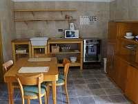 Apartmán Terasy - kuchyně