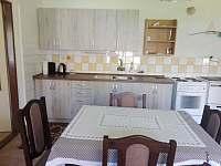 kuchyně - chalupa ubytování Dražičky