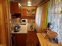 Kuchyně - chata k pronajmutí Červená