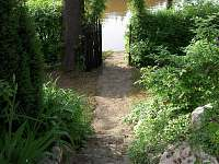 branka k rybníku - chata k pronájmu Cetoraz u Pacova