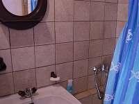 koupelna se sprchovým koutem - Cetoraz u Pacova