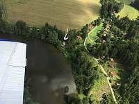 letecký pohled - Cetoraz u Pacova