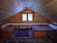 ložnice v podkroví - Cetoraz u Pacova